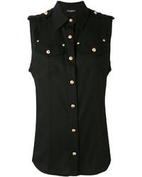 Camisa negra de Balmain