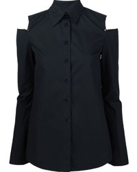 Camisa negra de Derek Lam