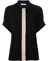 Camisa negra de Fabiana Filippi