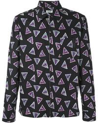 Camisa negra de Kenzo