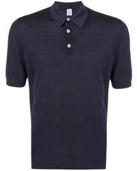 Camisa polo azul marino de Eleventy