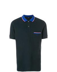 Camisa polo azul marino de Fay