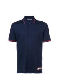Camisa polo azul marino de Givenchy