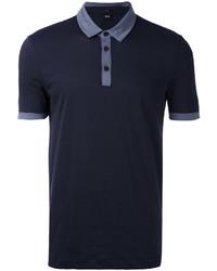 Camisa polo azul marino de Hugo Boss