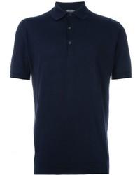 Camisa polo azul marino de John Smedley