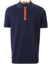 Camisa polo azul marino de Y-3