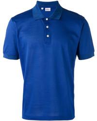 Camisa polo azul de Brioni