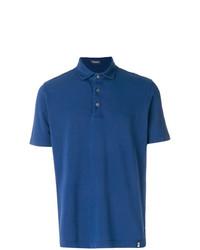 Camisa polo azul de Drumohr