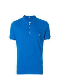 Camisa polo azul de Fay