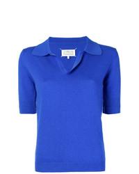 Camisa Polo Azul de Maison Margiela