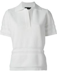 Camisa Polo Blanca de Alexander Wang