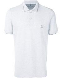 Camisa polo blanca de Brunello Cucinelli