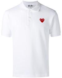 Camisa polo blanca de Comme des Garcons