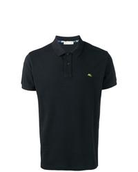 Camisa polo bordada negra de Etro