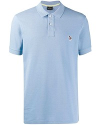 Camisa polo celeste de PS Paul Smith