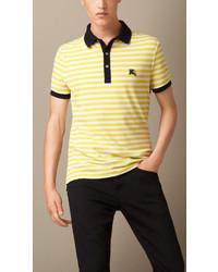 Rayas De Polo Camisa Horizontales Amarilla SERqZZAw