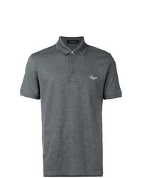 Camisa polo en gris oscuro de Ermenegildo Zegna