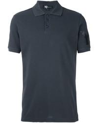 Camisa polo en gris oscuro de Y-3