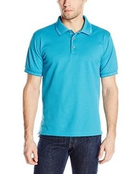 Camisa polo en turquesa de Robert Graham