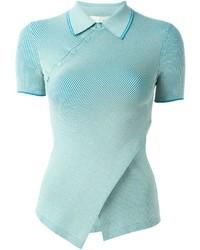 Camisa polo en turquesa de Stella McCartney
