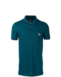 Camisa polo en verde azulado de PS Paul Smith