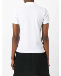 Camisa Polo Estampada Blanca de Comme Des Garcons Play