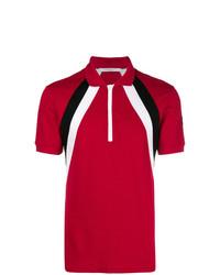 Camisa polo estampada roja de Givenchy