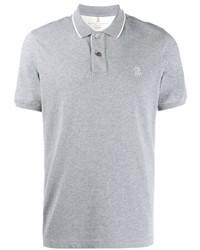 Camisa polo gris de Brunello Cucinelli