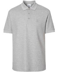 Camisa polo gris de Burberry