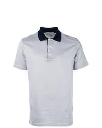 Camisa polo gris de Canali