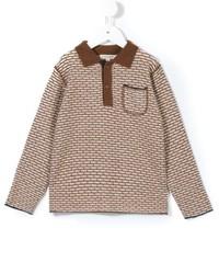 Camisa polo marrón claro de Caramel