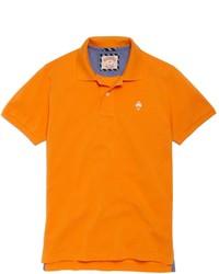 Camisa polo naranja