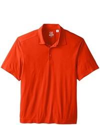 Camisa polo naranja de Cutter & Buck