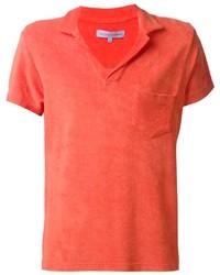 Camisa polo naranja de Orlebar Brown