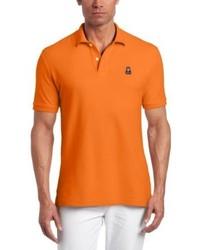 Camisa polo naranja de Psycho Bunny