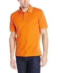 Camisa polo naranja de Robert Graham