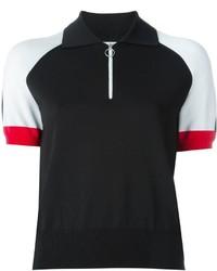 Camisa Polo Negra de Alexander Wang