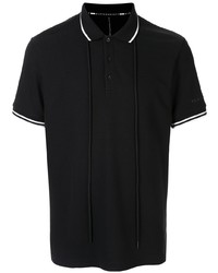 Camisa polo negra de Blackbarrett