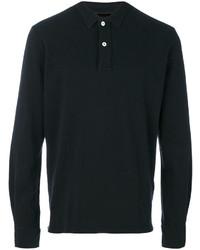 Camisa Polo Negra de Eleventy