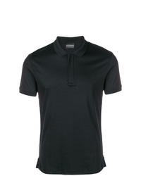 Camisa polo negra de Emporio Armani