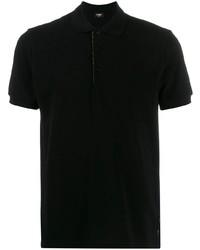 Camisa polo negra de Fendi