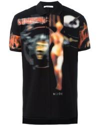 Camisa polo negra de Givenchy