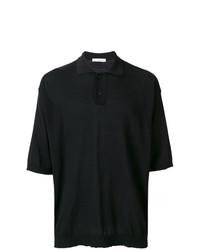 Camisa polo negra de Golden Goose Deluxe Brand