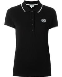 Camisa polo negra de Kenzo