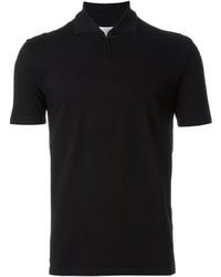Camisa polo negra de Maison Margiela