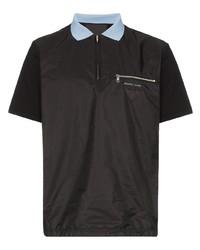 Camisa polo negra de Prada