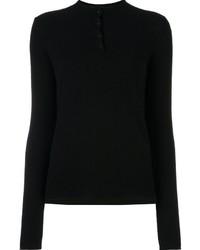 Camisa Polo Negra de Rag & Bone