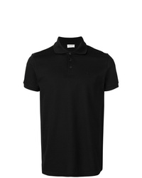 Camisa polo negra de Saint Laurent