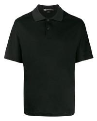 Camisa polo negra de Y-3