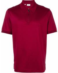 Camisa polo roja de Brioni